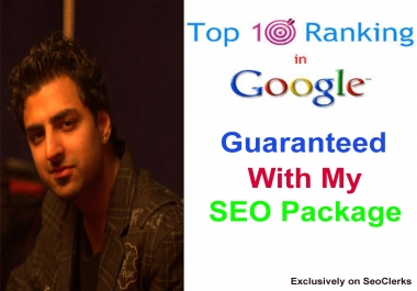 Get your website in Google Top 10 Guaranteed