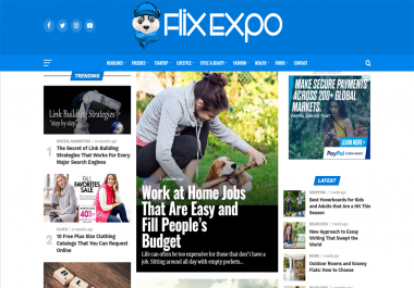 Write And Publish Sponsor Post On Flix Expo