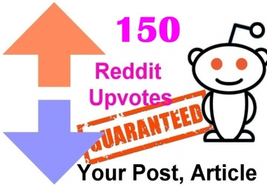 150 reddit upvotes to your reddit post or links or articles within 2 Hours