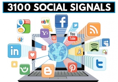 3,100 So-cial SEO Signals From The Top 4 Networks Free Dripfed