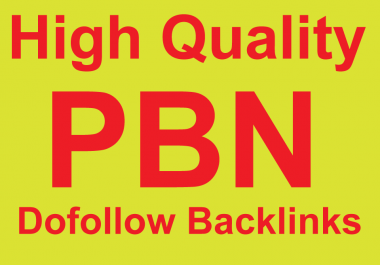 SEO Create 6 HQ DA PA TF CF PBN  Home page backlinks