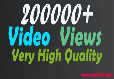 Increase you 200000+ Video Visitors/Scene