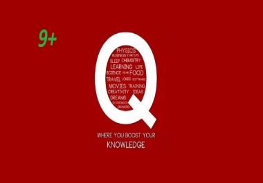 11+ Quality Quora Answer