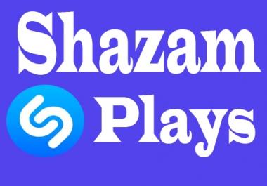 Buy HQ 10000+ USA & World Wide Shazam Plays Or 1200+ Shazam Artist Follo-wers