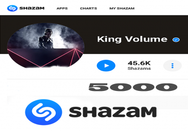 Get 5,000 Shazams To Your Song From HQ Profiles