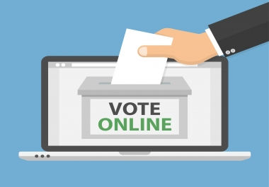 200 genuine votes to your entry to any website contest