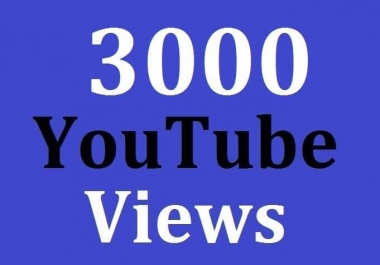 3000 High Quality View's Non Drop Instant Delivery