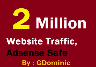 SKYROCKET 2 Million Website Worldwide Traffic For network Marketing & Business Promotion Boost SEO Website Visitors & Share Bookmarks Improve Google Ranking Factors
