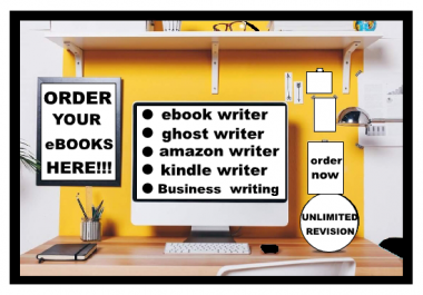i will be your perfect eBook writer