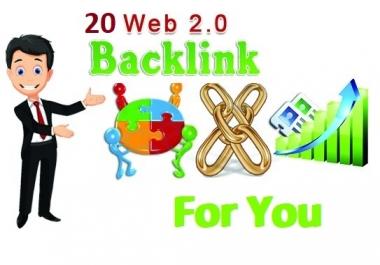 Manullay I Will Give You 20 High DA PA Web 2.0 Backlinks