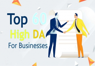Build 60 White Hat High Authority Brand Links For Businesses