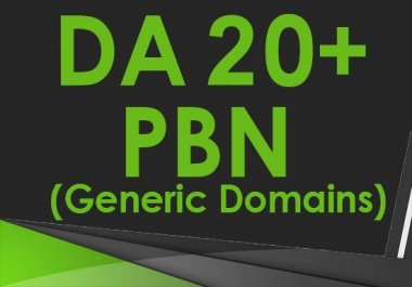 [RELAUNCHED] Create 6 DA 20-30+ Guaranteed Homepage PBN Post Backlinks