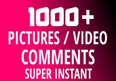 Add Super Instant 1000+ High Quality Pictures COMMENTS