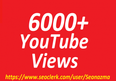 Add 6000+Real Non Drops YouTube Video Promotion Full Safe