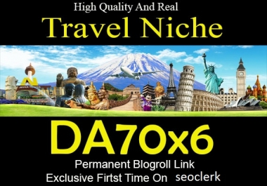 Guest Post On Travel Niche DA76