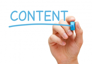 Will write high quality web content to engage visitors