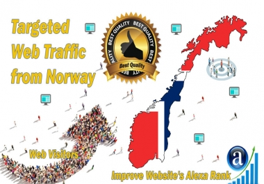 Norway web visitors Real targeted High Quality web traffic