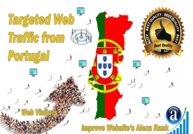 Portugal web visitors Real targeted High Quality web traffic