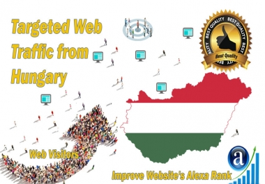 Hungary web visitors Real targeted High Quality web traffic