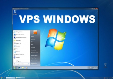 RDP vps windows 2 GB RAM, 50 GB SSD, Suppot Vpn,Hma