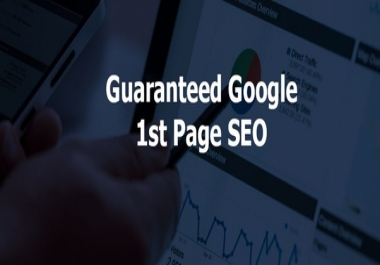 Google 1st Pages Ranking service
