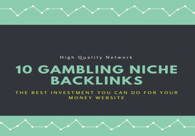 JUDI BOLA - CASINO - POKER 10 Niche Backlinks