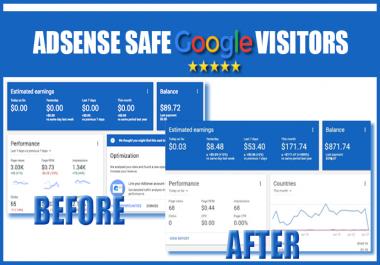 Send 30K+ ADSENSE safe USA visitors from Google