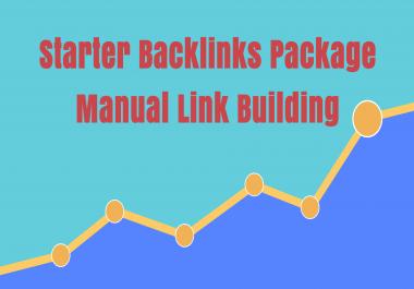 Starter Backlinks Package 100 Manual Backlinks