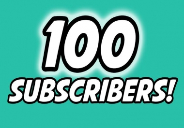 HQ 100+ YouTube Non Drop Safe Sub Within 6-10 Hours