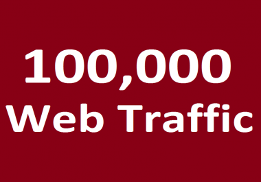 100,000 Website traffic WORLDWIDE