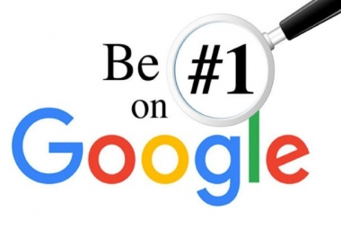 RANK Very High on Google your Online Store, Website, YouTube video, Social Media Pages or Anything