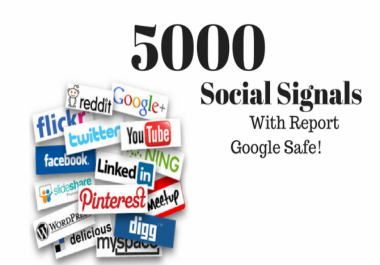 PR9-PR10 5000 SEO Social Share and Signals Traffic