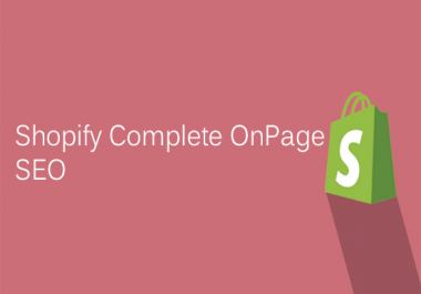 Complete Shopify Onpage Seo Optimization