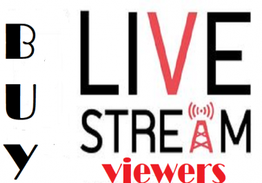 100  STREAMING BOT VIEWERS  FOR 3 HOURS TO ATTRACT MORE AUDIENCES