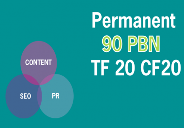 Create 90 Strong Permanent Homepage PBN Dofollow Backlinks