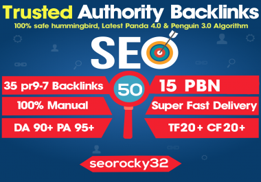 White Hat SEO Techniques, 50 Manual Premium PBN & Profile Backlinks to Boost You Website