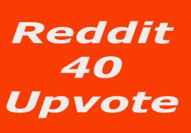 Quick Start 40+ Non Drop Reddit Upvotes