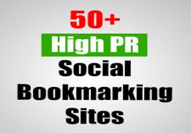 Provide you  Manually 50+Top High Authority Social Bookmarking