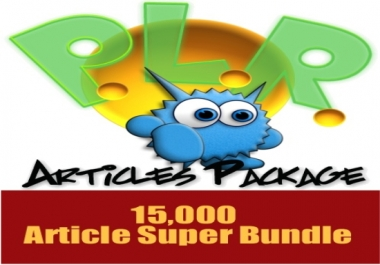 15K PLR Articles for all niche from A to Z with PLR video tutorial