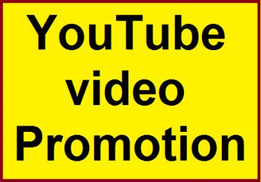 YouTube Video Marketing social Media Promotion Split available