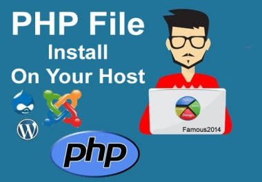 Install PHP Script Or update on your host Within Few hours