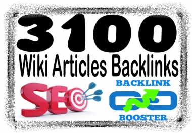 Create Unlimited contextual Wiki from 3,100 Wiki Articles Backlinks
