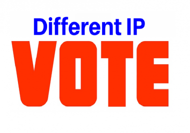 Give You 150 Different USA ip contest votes