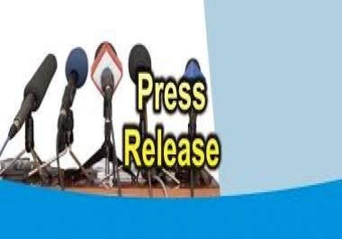 Manually Submit Your 10 Press Release + 10 web 2.0 backlink