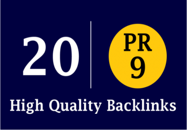 Manually Create 22 Top Authority Backlinks 80+ DA Boost Your ranking