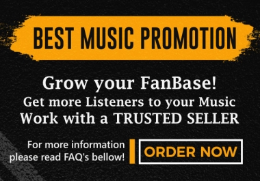 Advertise your Music until go VIRAL