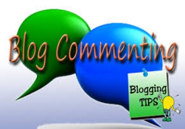 Guaranteed 25 High Quality Blog Comment very fast within 24-36 Hours Complete