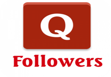 Get 50 Quora Worldwide High Quality Followers with 10 days Refill Guarantee