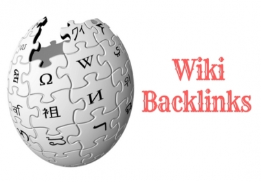 100 Wiki Backlinks High Authority on google ranking