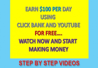 Earn Easy Daily 3 Figures From ClickBank Affiliate Program